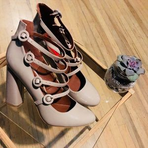 London Rebel Mary Jane Shoes.